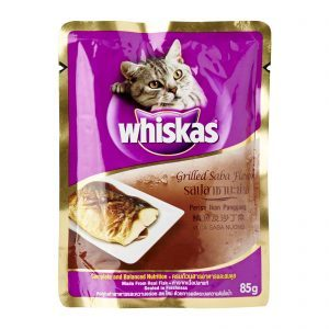 Whiskas Grilled Saba 85g