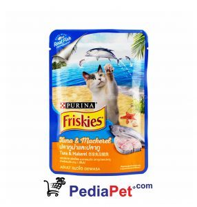 Friskies Tuna & Mackerel 80 gr